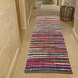 环保 * 可回收棉彩虹小地毯