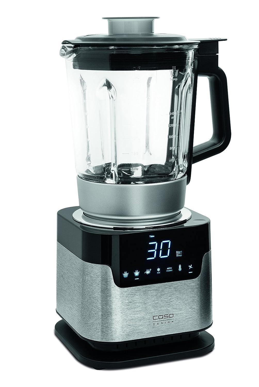 Caso CB2200 Batidora de vaso 1.7L Negro, Acero inoxidable - Licuadora (1,7 L, Tocar, LCD, Batidora de vaso, Negro, Acero inoxidable, Vidrio): Amazon.es: ...
