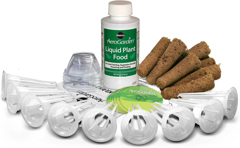 AeroGarden Kit c/ápsulas de semillas 6 c/ápsulas