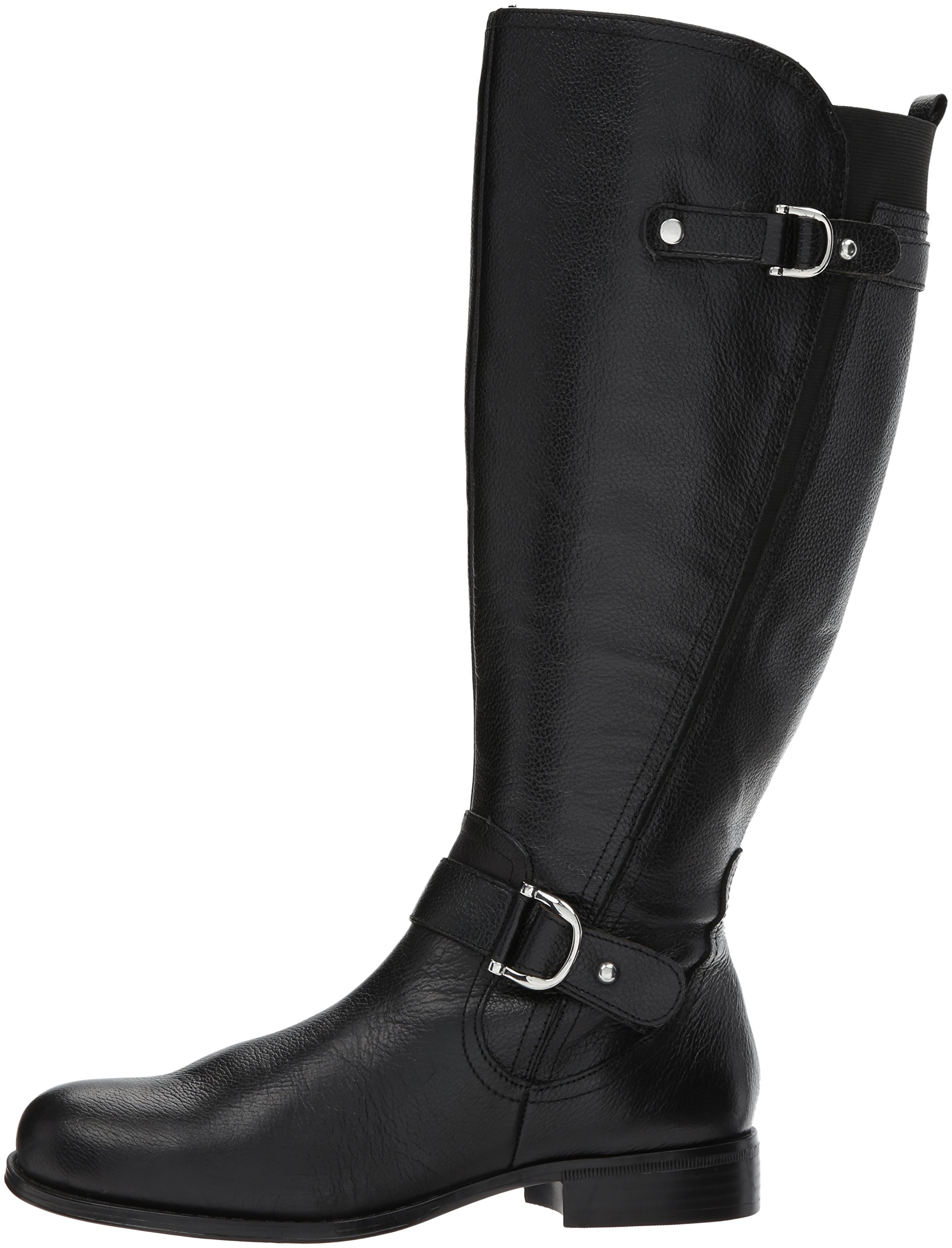 Naturalizer Women's Jenelle Wc Riding Boot, Black, 7.5 M US by Naturalizer (Image #5)