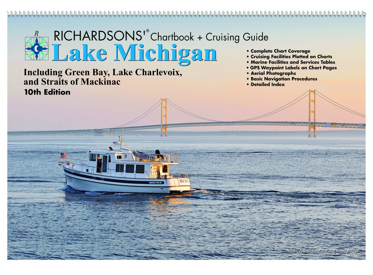 Lake Michigan Chartbook + Cruising Guide, 10th Ed. PDF