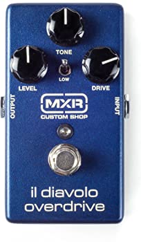 MXR Custom Shop IL Diavolo Guitar Overdrive Pedal
