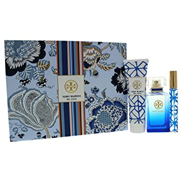00bdb2892a Image Unavailable. Image not available for. Color: Tory Burch Bel Azure ...