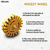 Decal Removal Rubber Eraser Wheel Tool with Drill