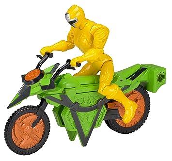 Power Rangers Ninja Steel - Moto Ninja Steel Ranger Amarillo (Bandai 43572)
