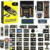 KEYESTUDIO 37 Sensors in 1 Box Starter Kit for BBC Micro:bit with Tutorial (Excluding Micro:bit Board)