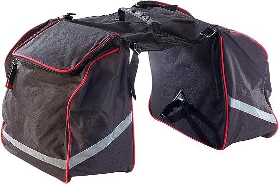 Xcase - Maleta doble para bicicleta: Amazon.es: Ropa y accesorios