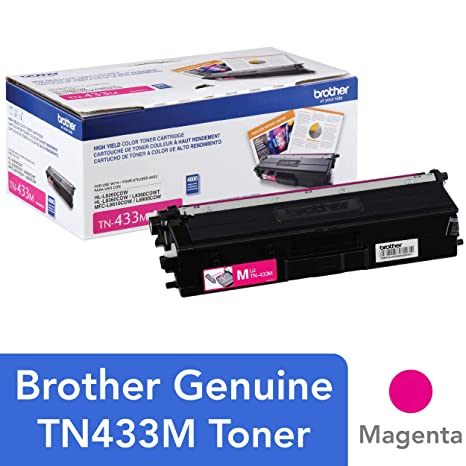 Amazon.com: Brother Impresora tn433 m High Yield toner ...