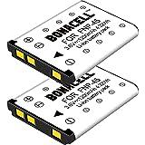 Bonacell 2 Pack Replacement Fujifilm NP-45 1200mAh Batteries for Fujifilm FinePix XP120 XP20 XP22 XP30 XP50 XP60 XP70 XP80 XP90 T350 T360 T400 T500 T510 T550 T560 JX500 JX520 JX550 JX580