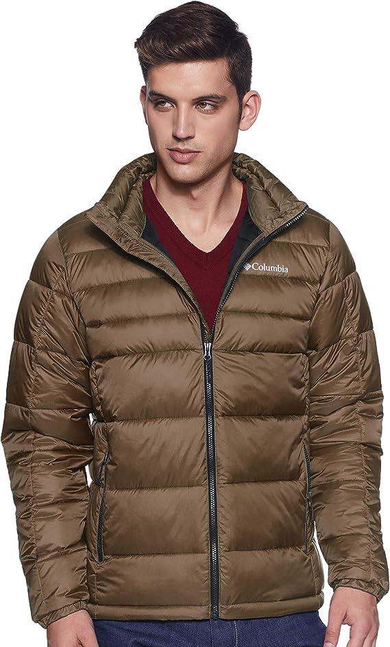 低于金盒 Columbia 哥伦比亚 Buck Butte 男式保暖连帽棉服夹克 4.1折$45 海淘转运到手约¥379