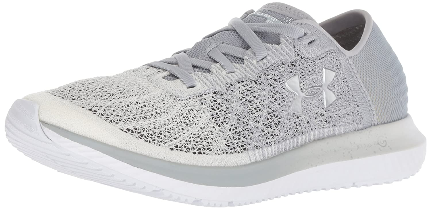 Under Armour Women's Threadborne Blur Running Shoe B0773VXXWN 6.5 M US|Overcast Gray (102)/White
