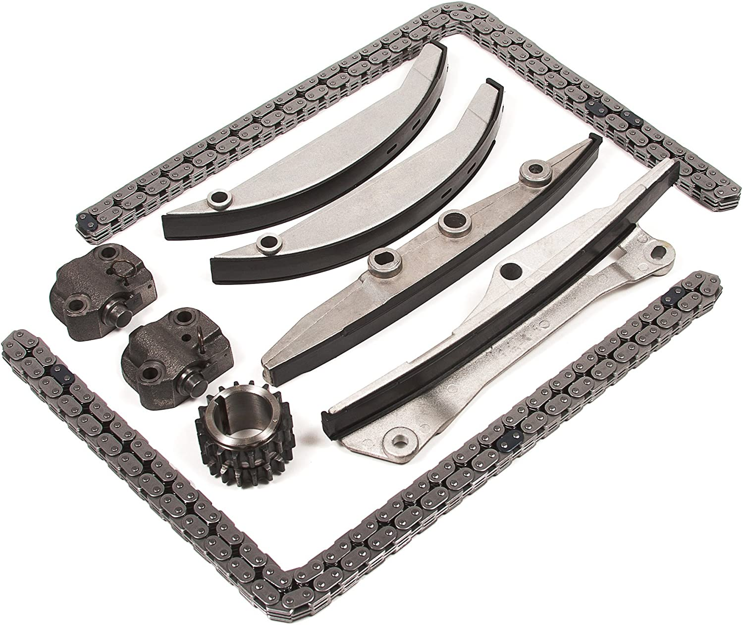 Diamond Power Timing Chain Kit works with Ford Contour Taurus Lincoln LS Mazda MPV Mercury Cougar Mystique Sable 2.5L 3.0L DOHC Duratec