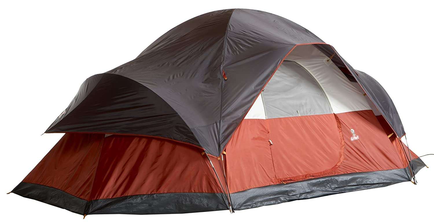 5.	Coleman 8-Person Red Canyon Tent