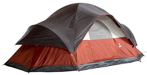 Coleman 8-Person Red Canyon Tent 1