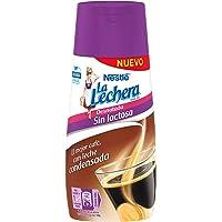 Nestlé La Lechera Leche Condensada Desnatada Sin Lactosa Botella Anti Goteo - 450 gr