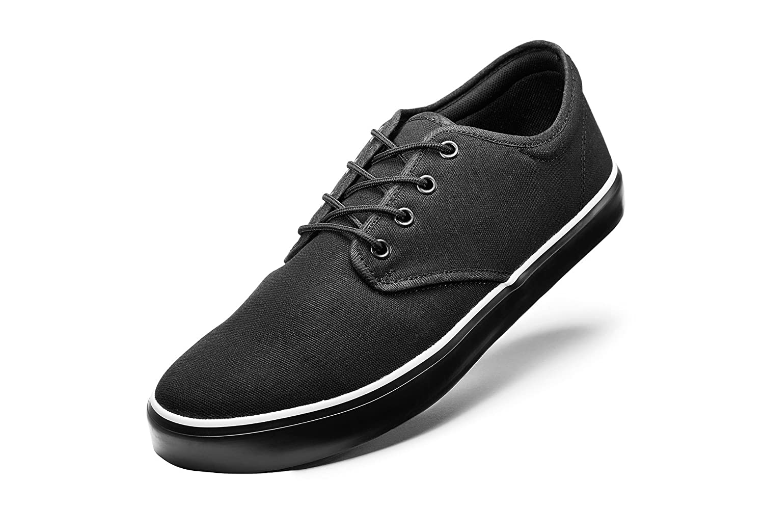 Men's Organic Shoe {Blackout Edition} - Vegan Footwear - Sustainable - Ethically Sourced - Organic Cotton, Organic Rubber, Z Shoes