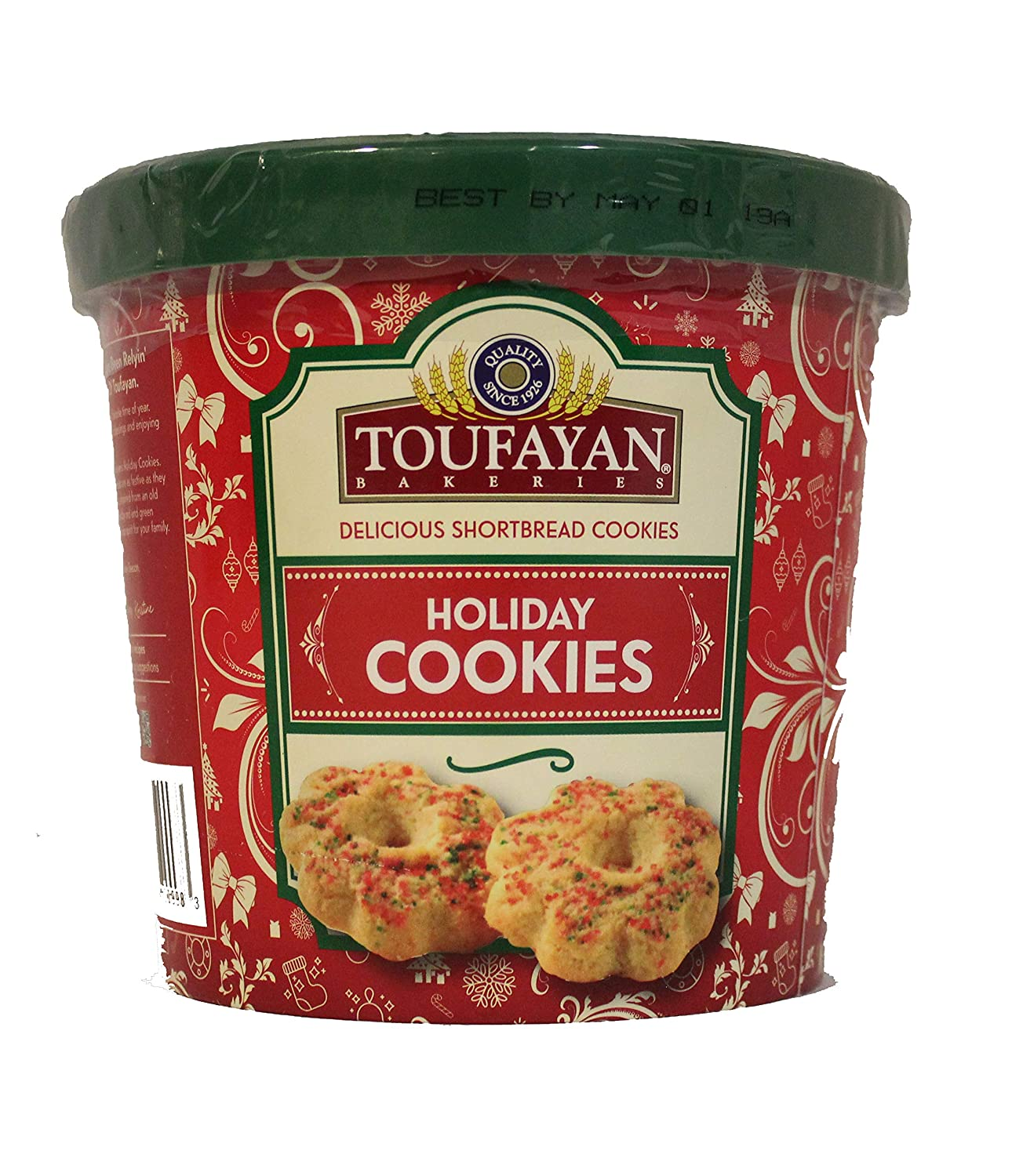 Amazon Com Christmas Holiday Cookies By Toufayan Bakery Delicious