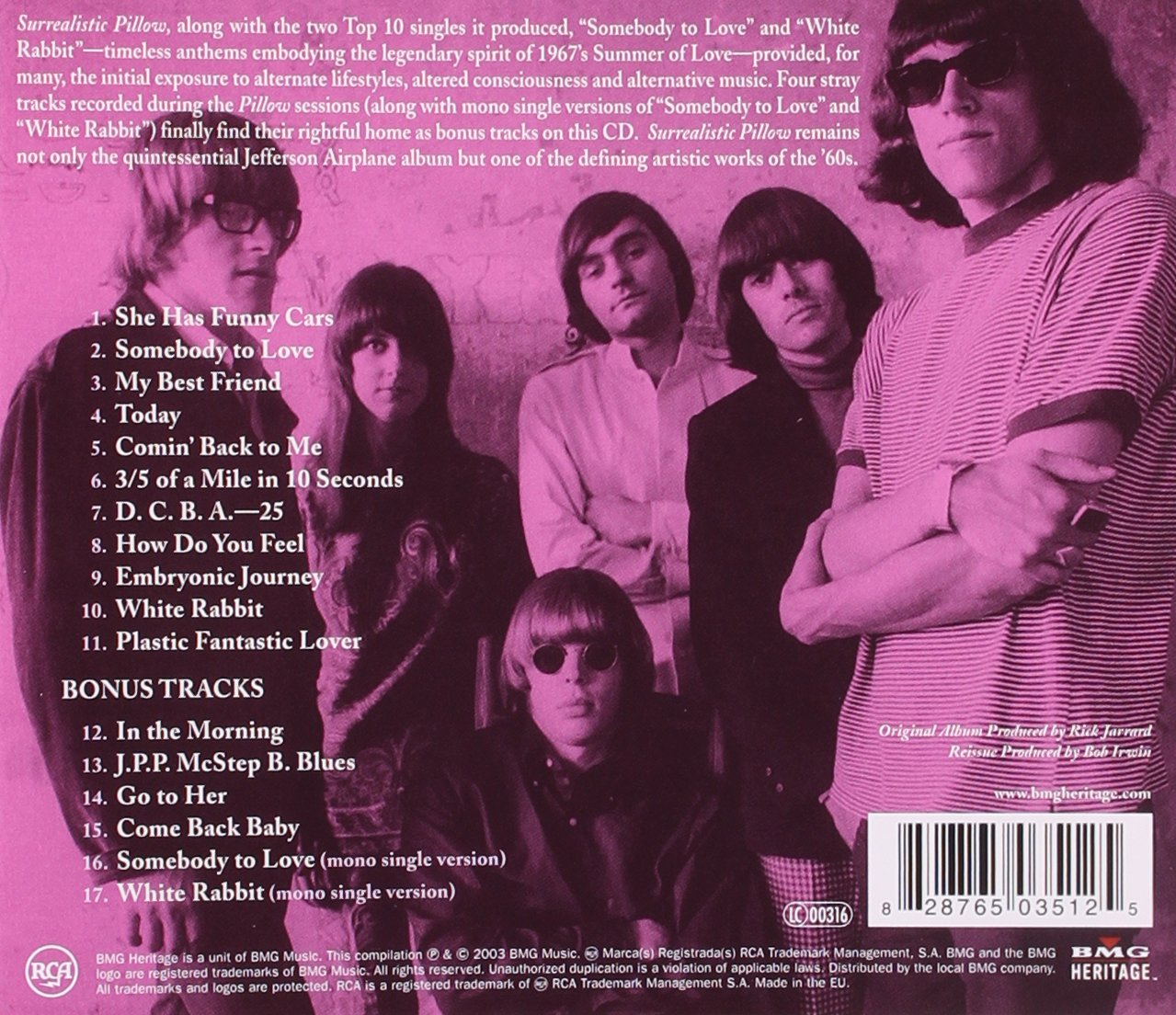 "the facts behind the song white rabbit by jefferson airplane She was listening to music when the jefferson airplane song ""white rabbit"" came on: ""so i can jump up from behind the headstone gotcha."