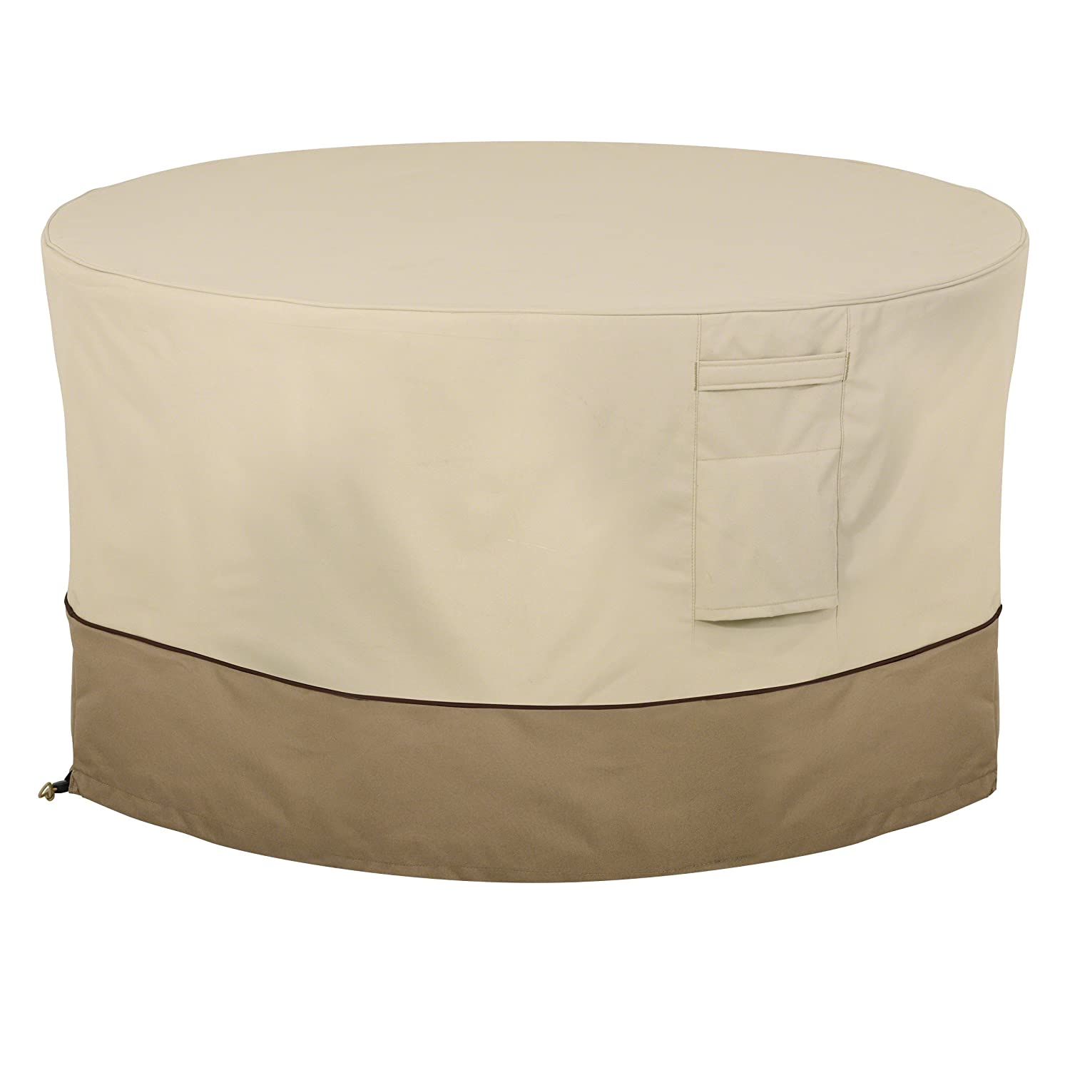 Charmant Classic Accessories 55 465 011501 00 Veranda Round Fire Pit/Table Cover