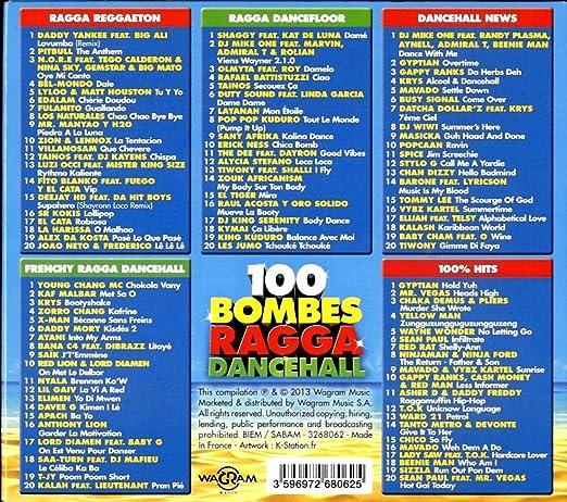 Various Artists - 100 Ragga Dancehall Bombs - Amazon.com Music