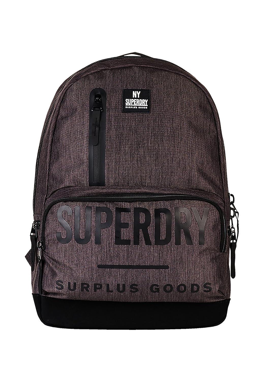 Superdry Surplus Goods Multizip Montana, Sacs à dos homme, Grigio (Dark Charcoal), 30.0x45.0x15.0 cm (W x H L)
