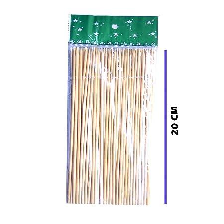 JFPA Wooden Skewers Stick (20 cm) -Set of 80