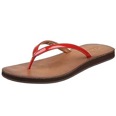 clark spa flip flops brown