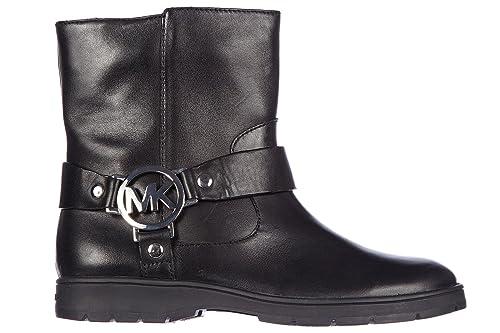 Michael Kors Botines Botas en Piel Mujer Fulton Biker Negro EU 39.5 43F4FUFE8L: Amazon.es: Zapatos y complementos
