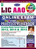 LIC AAO Online Exam Guide – Cum – Practice Work Book  (With CD)– English - 1548
