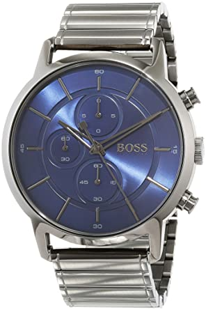 6a2d85199 Hugo Boss 1513574 Men's Quartz Watch, Analog Display and Stainless ...