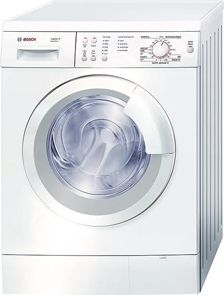 Bosch WAS20161EE - Lavadora (Independiente, Carga frontal, Blanco, 8 kg, 1000 RPM, A): Amazon.es: Hogar