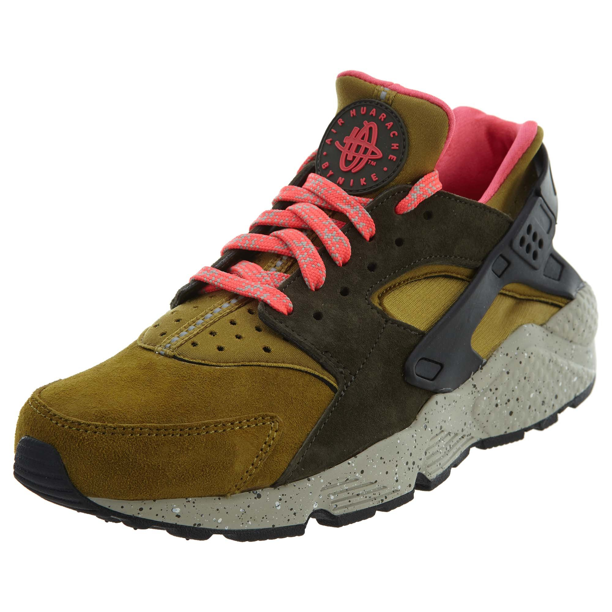 low priced d88b3 0aaca NIKE Men s Air Huarache Run PRM Gymnastics Shoes, Gold (Desert Moss Cobblestone-Cargo  Khaki 302), 6 UK