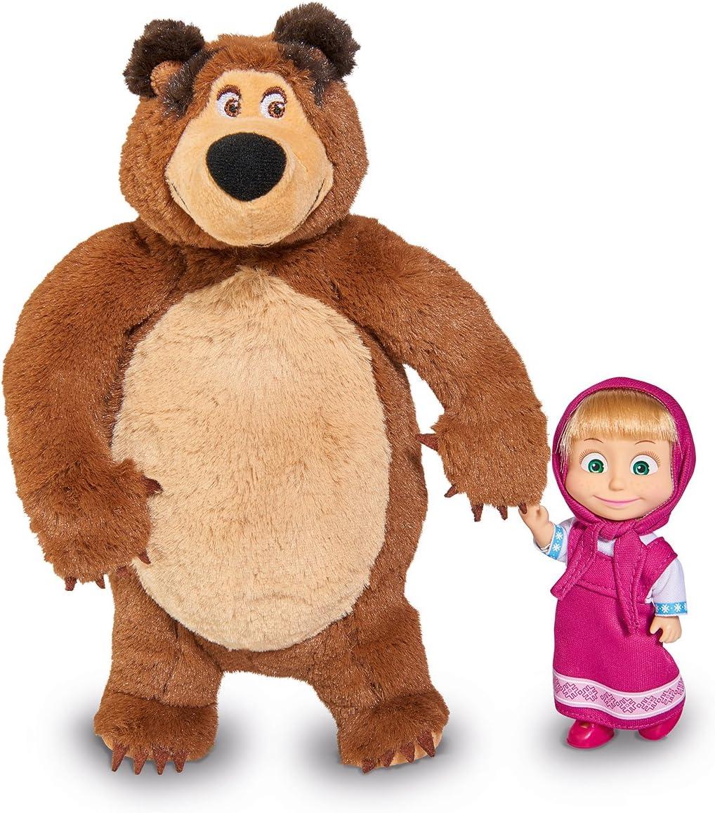 Nylon//A Simba 109301023 Masha Winter Bear House