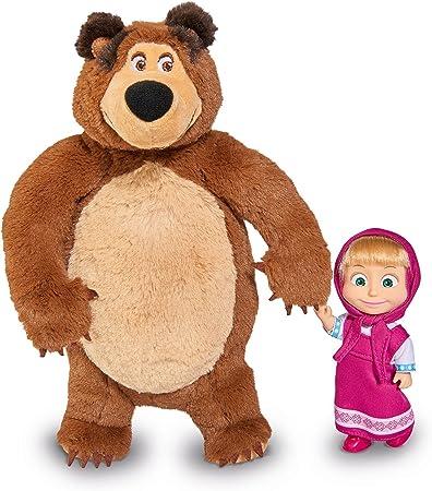 peluche masha e orso grande