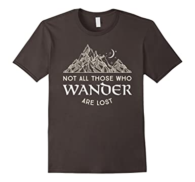 Wander More Not All Those Who Wander Are Lost Hiking Trees Hooded Sweatshirt VxpWcil