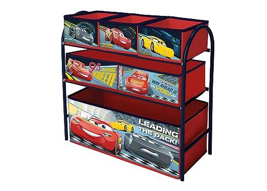 Organizador con diseño de Cars, varias bandejas, armazón de metal Disney Cars: Amazon.es: Bebé