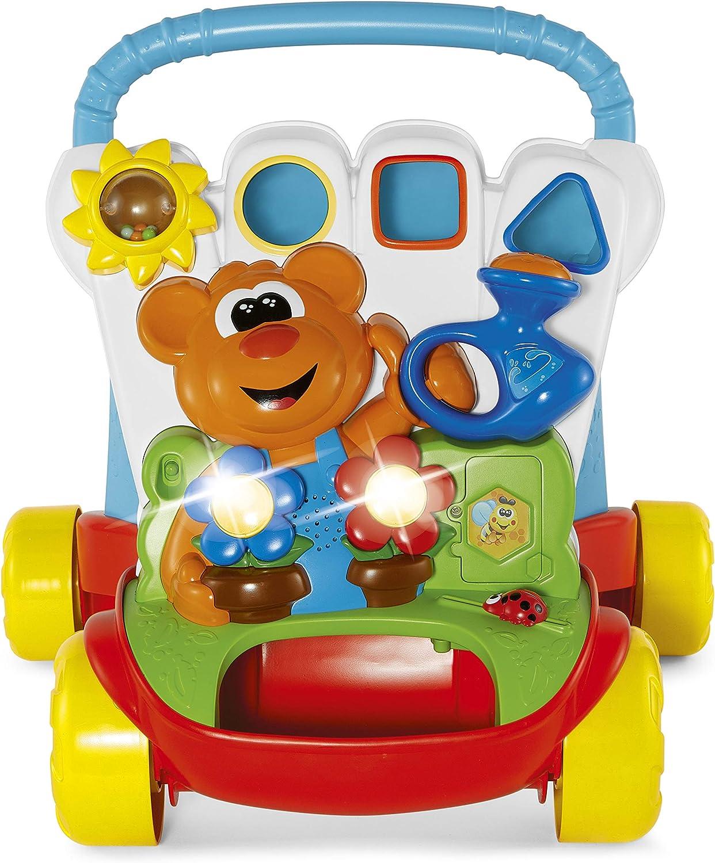 Chicco- Andador COMIENZANDAR RIEGA Y Camina con Panel DE Actividades 45X48X44 CMS, Multicolor, 45 x 48 x 44 cm (9793000000)