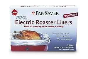 PanSaver 45950 Foil Electric Roaster Liner