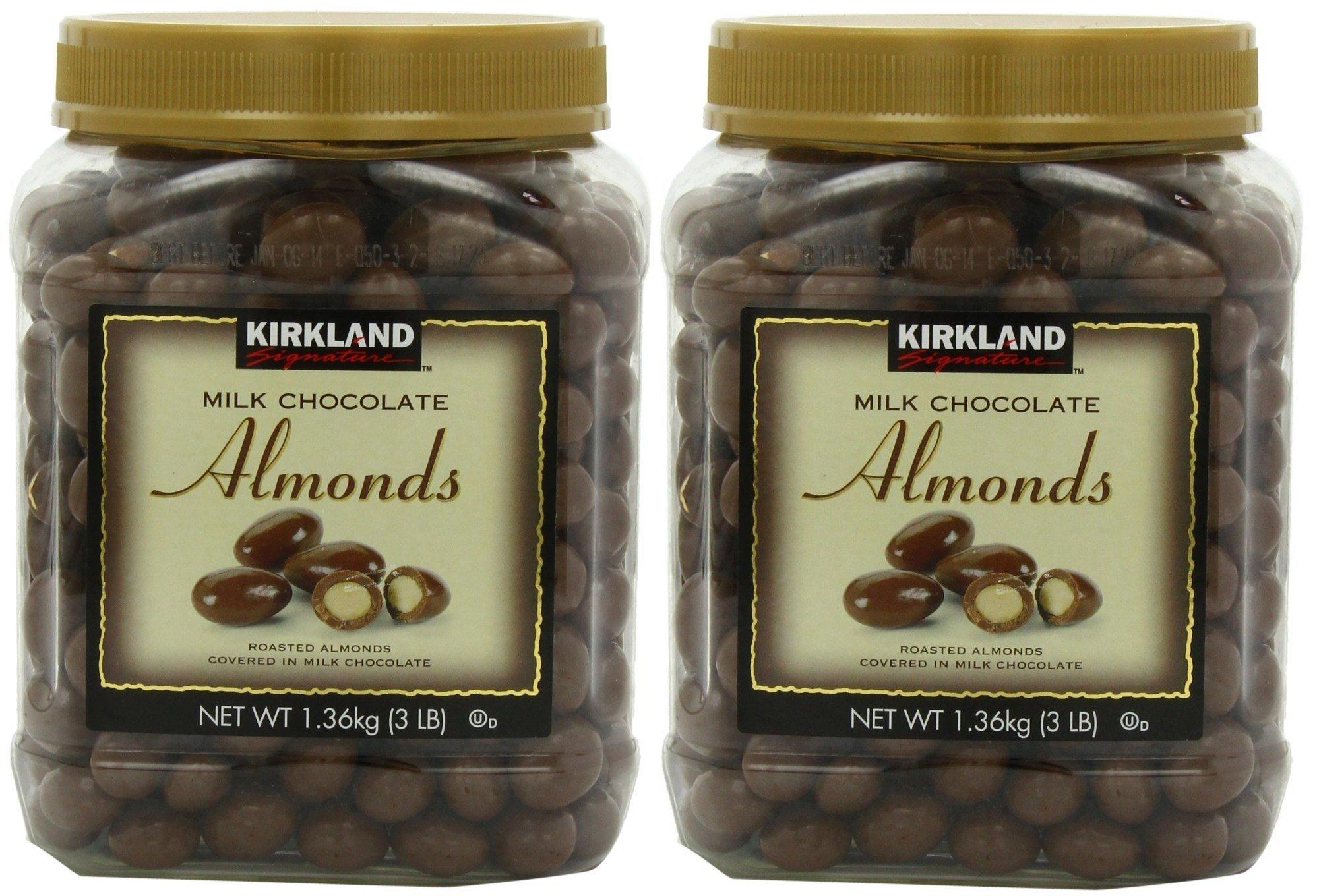 Kirkland Signature's Milk Chocolate, Almonds, 48 Ounce - 2 Jar
