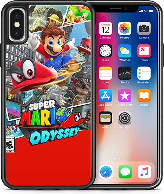 ModifiedCases Super Mario Odyssey Bumper Case Compatible with iPhone X