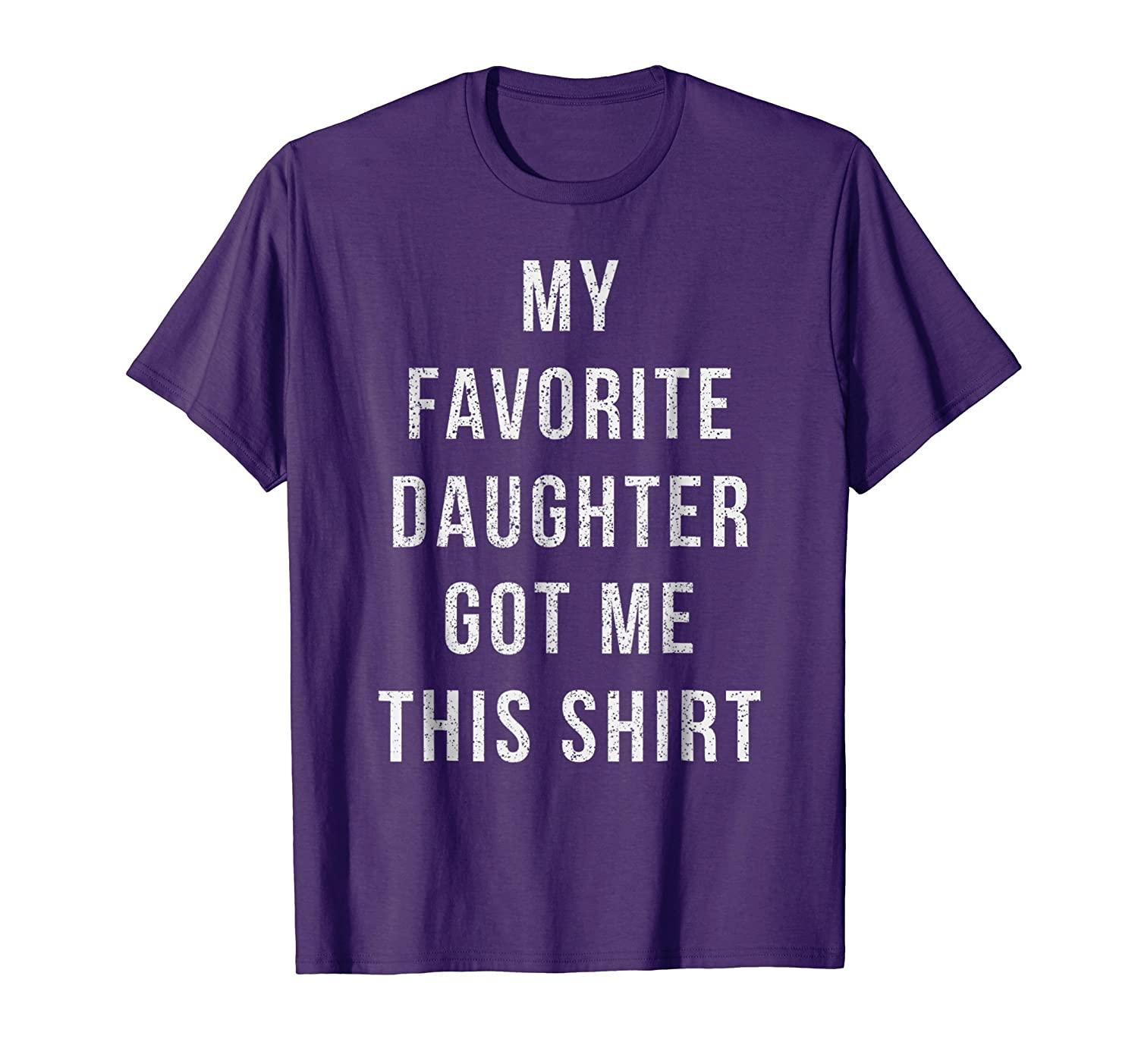 Christmas Gifts From Daughter Funny T Shirt Dad Mom Novelty-ln