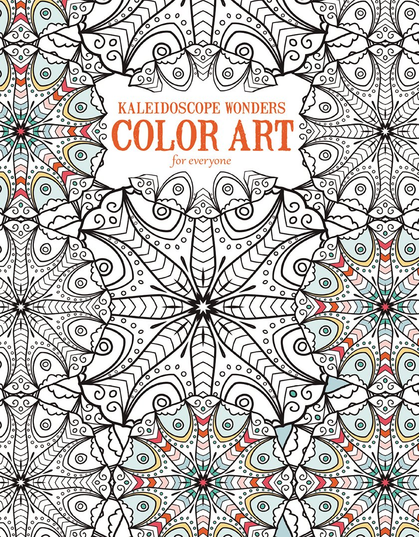How much is the coloring book for adults - Kaleidoscope Wonders Color Art For Everyone Leisure Arts The Guild Of Master Craftsman Publications Ltd 0028906067071 Amazon Com Books