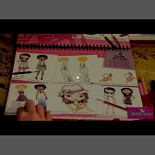 Fashion Angels Fashion Design Sketch Portfolio Artist Set Best