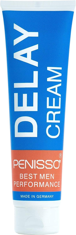 Penisso Delay – Crema retardante para el pene | Fabricada en Alemania | Contra la eyaculación precoz | Para un placer más duradero | Ingredientes naturales, delicada con la piel | 100 ml