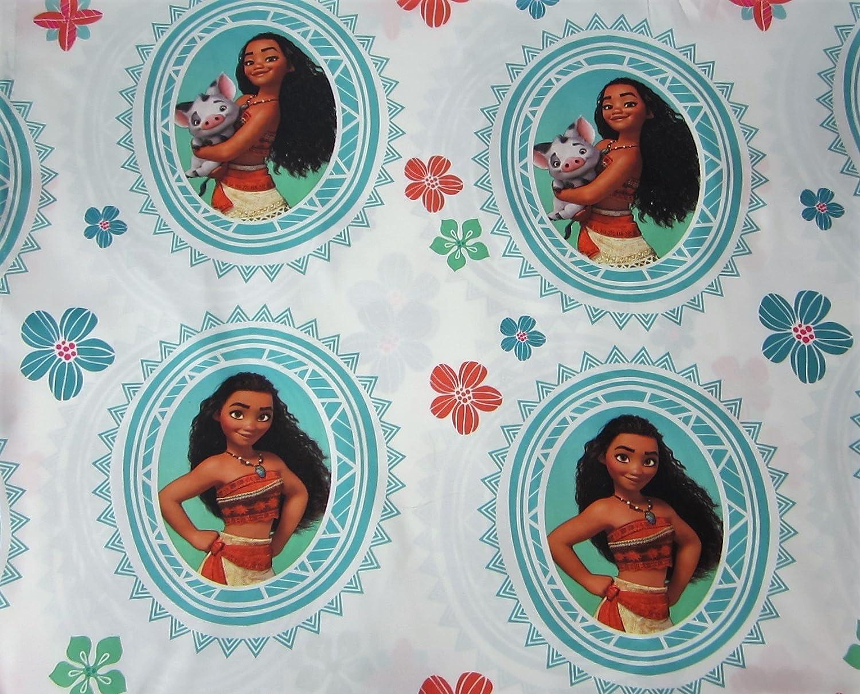 Moana The Journey 100% Microfiber (FLAT SHEET ONLY) Size FULL Girls Kids Bedding Jay Franco & Sons Inc.