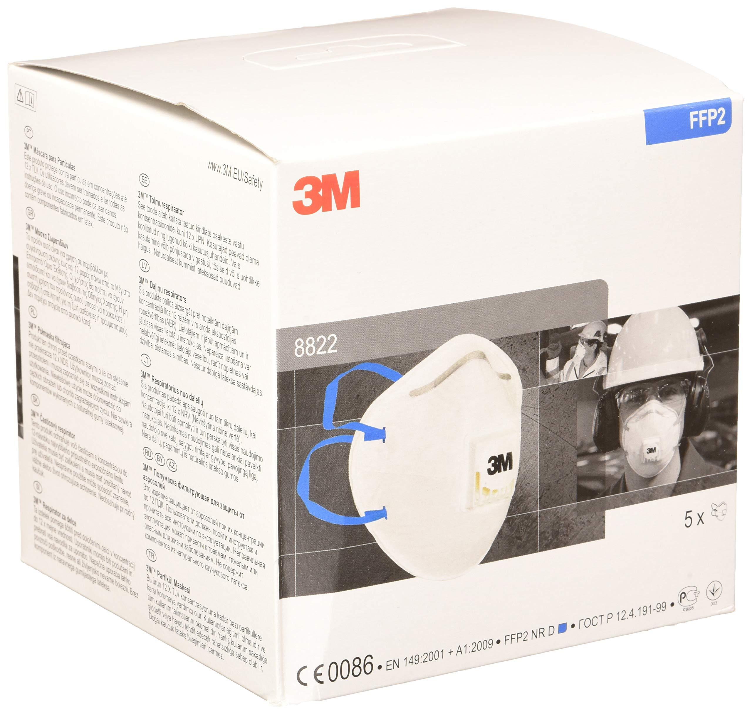 respiratore 3m ffp2
