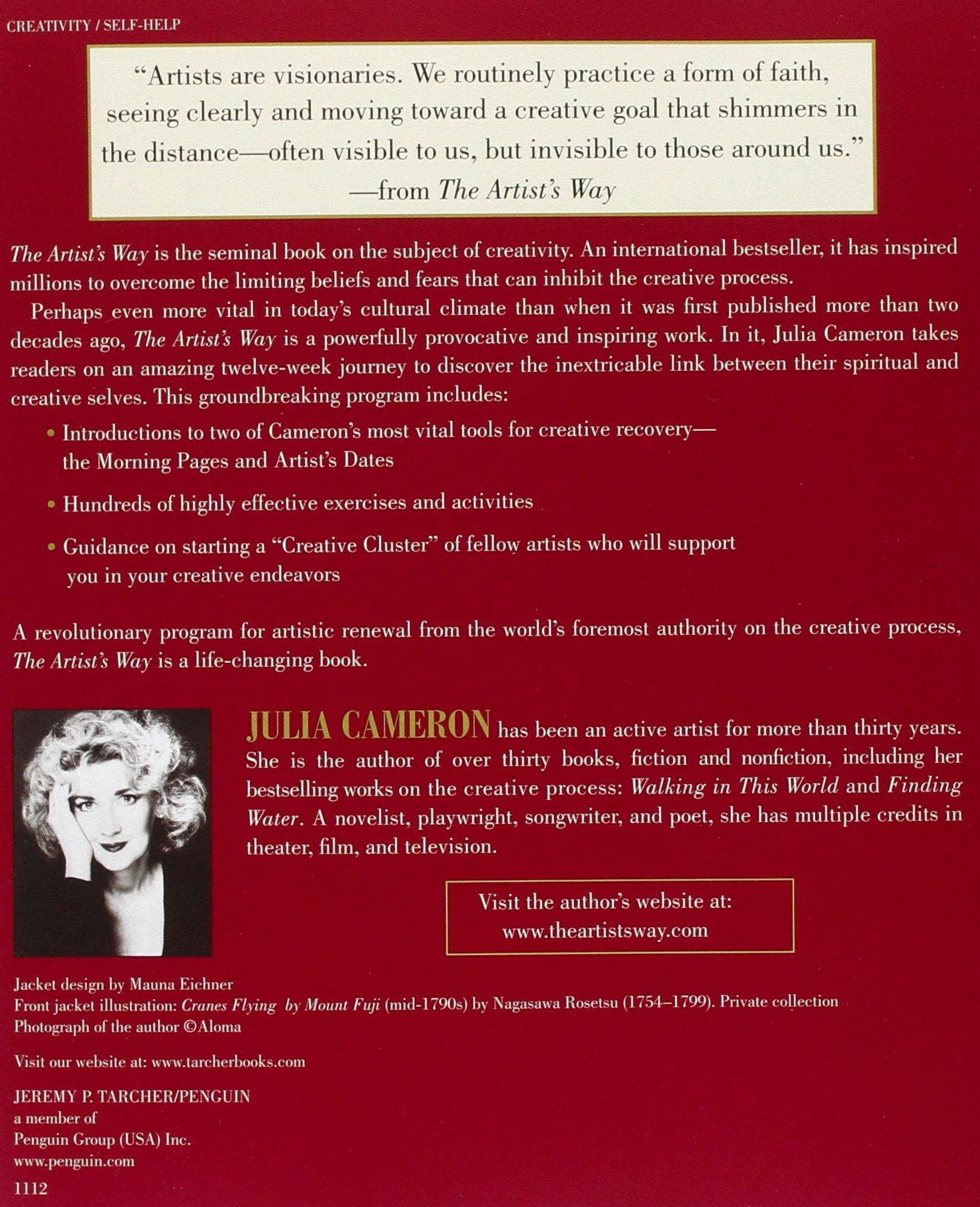 The Artist's Way Starter Kit: Julia Cameron: 9781585429288: Amazon.com:  Books
