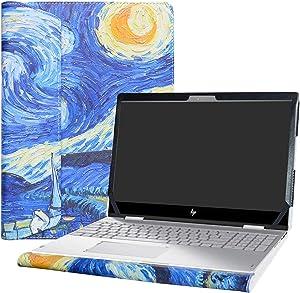 "Alapmk Protective Case Cover for 15.6"" HP Envy X360 15 15-cnXXXX 15m-cnXXXX 15-cpXXXX 15m-cpXXXX Laptop [Warning:Not fit Envy X360 15 15-apXXX 15-arXXX 15-wXXX 15-bqXXX 15-bpXXX 15-uXXX],Starry Night"