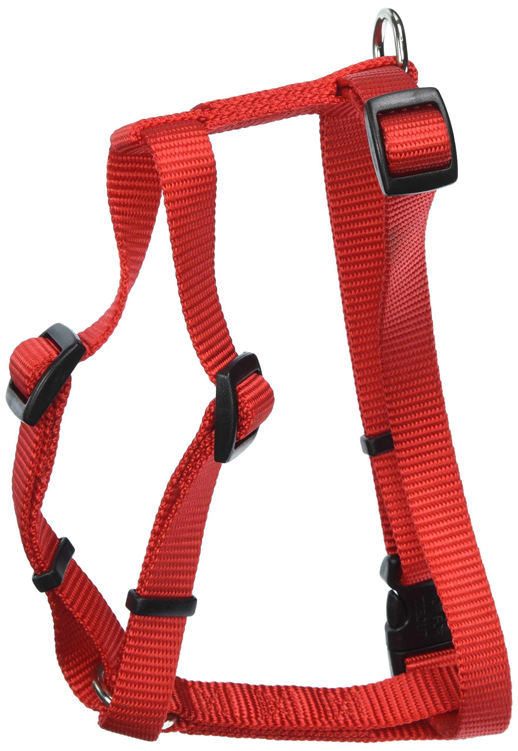 Coastal Pet Products DCP6443RED Nylon Standard Adjustable Dog Harness, Small, Red