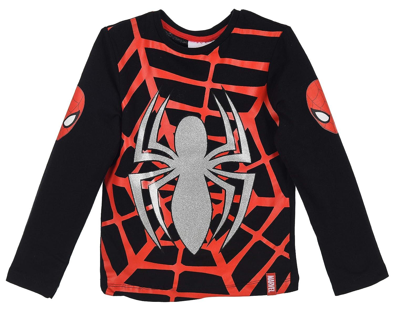 Spiderman Niños Camiseta de Manga Larga: Amazon.es: Ropa y accesorios